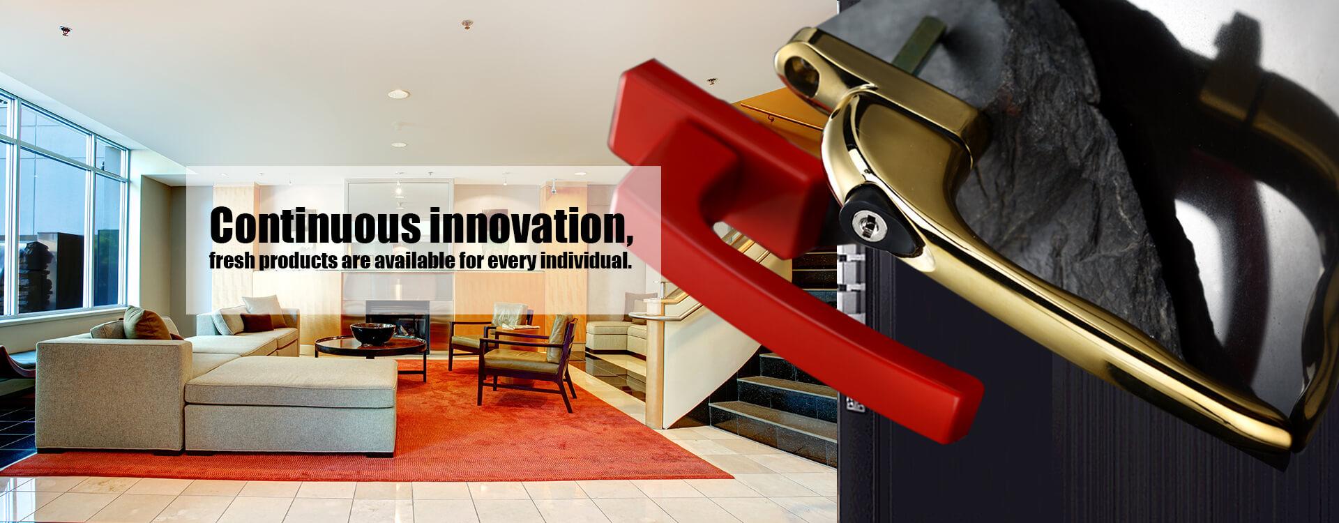 Постоянные инновации, свежие продукты доступны для каждого человека