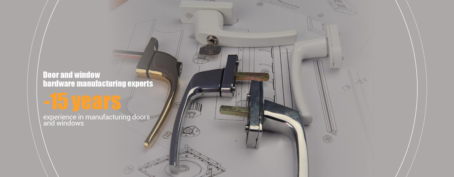 Эксперты по производству дверной и оконной фурнитуры -15 лет опыта в производстве дверей и окон